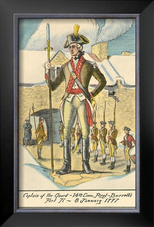 Captain of the Guard, Fort Ticonderoga Poster at AllPosters.