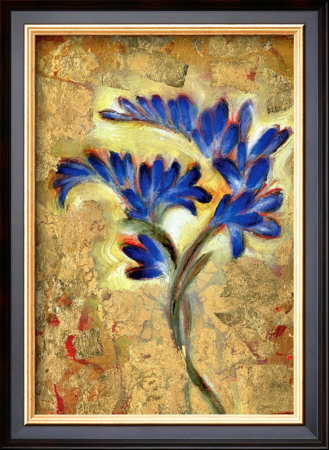 Fresia Framed Giclee Print by Marcella Rose