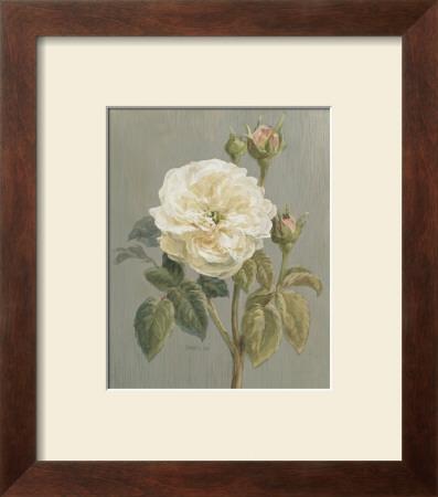 Heirloom White Rose Posters by Danhui Nai