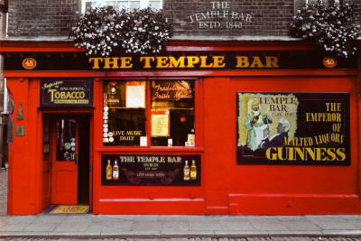 Temple Bar - Dublin Poster