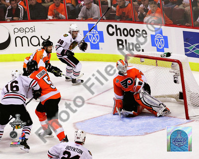 Patrick Kane Game Winning Goal 2009-10 Stanley Cup Finals Photo