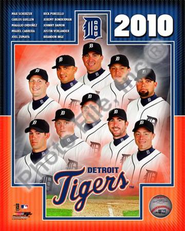 2010 Detroit Tigers Team Photo