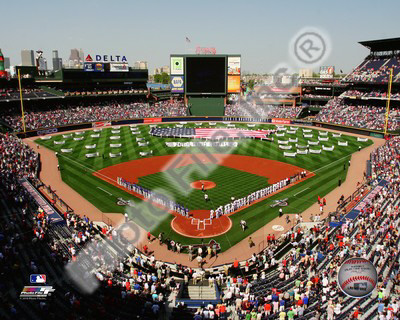 Turner Field 2010 Opening Day Photo