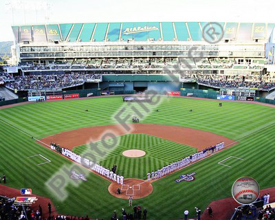 Oakland-Alameda County Coliseum 2010 Opening Day Photo