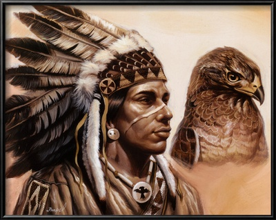 Young Hawk Posters by Gary Ampel