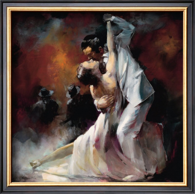 Tango Argentino I Poster by Willem Haenraets