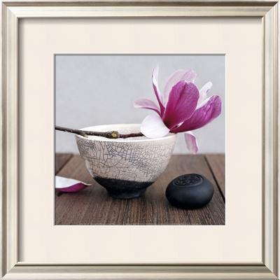 Magnolia and Bowl Prints by Amelie Vuillon