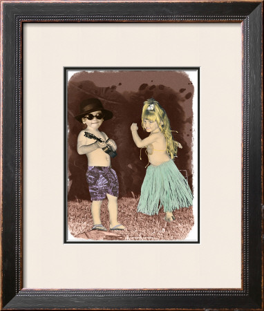 Let's Dance Framed Giclee Print by  Himani