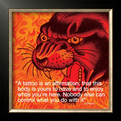 Ed Hardy Tattoo. Ed Hardy: Tattoo Framed Art