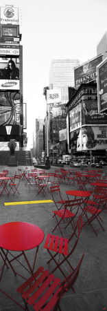 Terrace in Times Square Poster by Philip Plisson