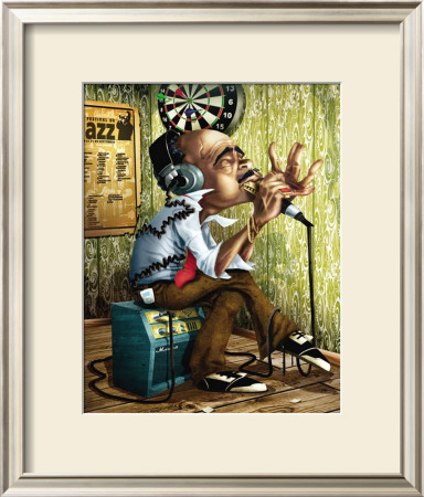 Bluesman Harmonica Prints by Adam Perez