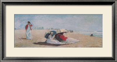 East Hampton, Long Island, 1874 Print by Winslow Homer
