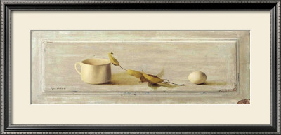 Cup and Egg Poster by Grau Verger