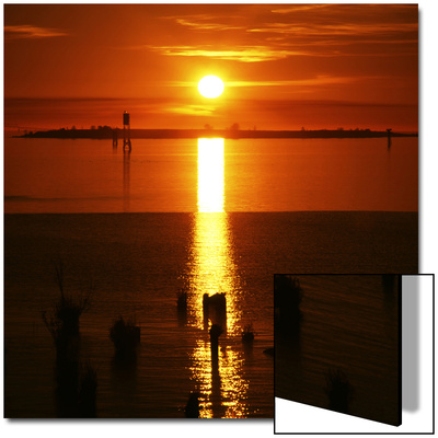 Sunset over Columbia River, Oregon, USA Posters by Deon Reynolds