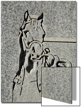 North America, Nevada, White Pine County, Lund, Lund Cemetery, Headstone Detail Art by Deon Reynolds