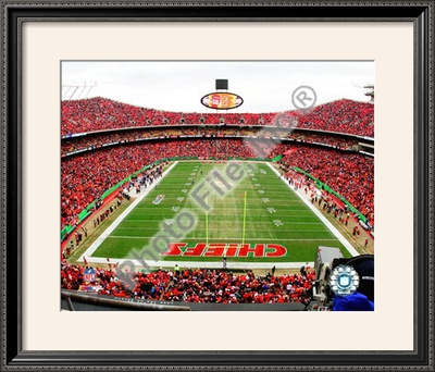 Arrowhead Stadium, Framed Photographic Print