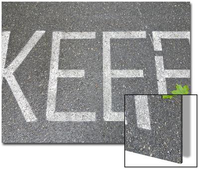 Conceptual Image, Keep Green Poster by John Churchman