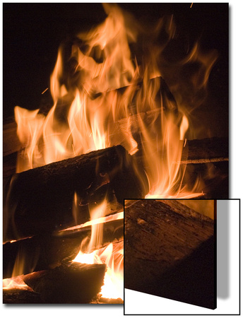 Fire and Wood Prints by Daniel Root