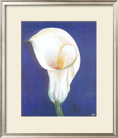 Iris I Print by D. Ferrer