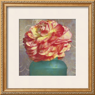 Floral Study IV Poster by Sally Wetherby