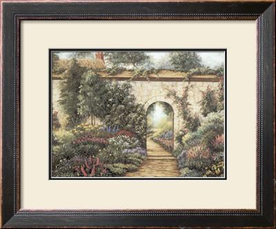 The Garden Gate Prints by Barbara R. Felisky