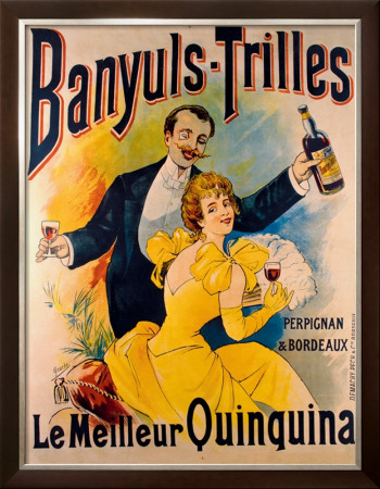Banyuls Trilles Framed Giclee Print by  Geache