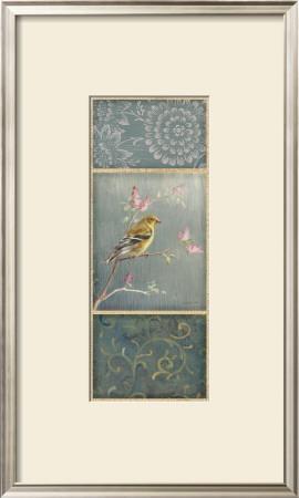 Female Goldfinch Art by Danhui Nai