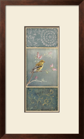 Female Goldfinch Prints by Danhui Nai