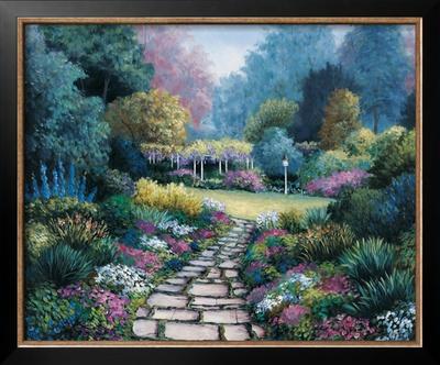 Garden Pathway Prints by Barbara R. Felisky