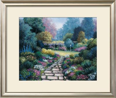 Garden Pathway Posters by Barbara R. Felisky