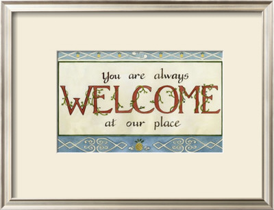 Welcome Poster by Tara Friel