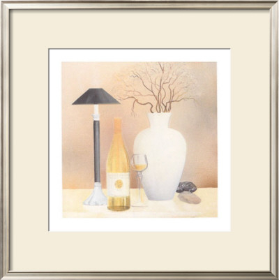 Still Life with Black Lamp Prints by Heinz Hock