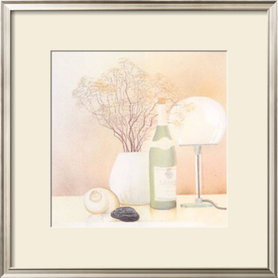 Still Life with White Lamp Posters by Heinz Hock