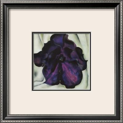 Purple Petunia Print by Georgia O'Keeffe