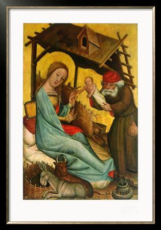 Nativity Prints by  Master Bertram of Minden