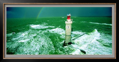 Le Phare des Barges Prints by Jacques Vapillon