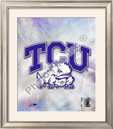 2009 Texas Christian University Team Logo Framed Photographic Print