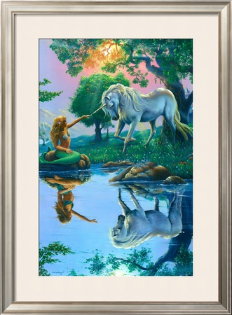 If I Were a Mermaid and You Were a Unicorn Posters by Jim Warren