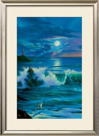 Moonlit Romance Prints by Jim Warren