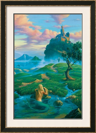 The Prince and the Mermaid Poster by Jim Warren