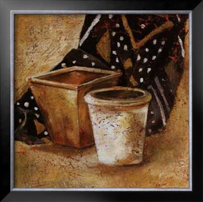 Pot et Tissus II Posters by Olga Ilic