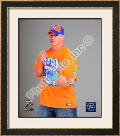 John Cena 2010 Posed Framed Photographic Print