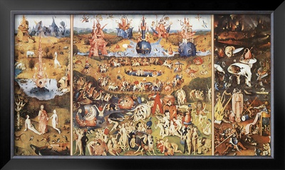 The Garden of Earthly Delights, 1504 Poster by Hieronymus Bosch