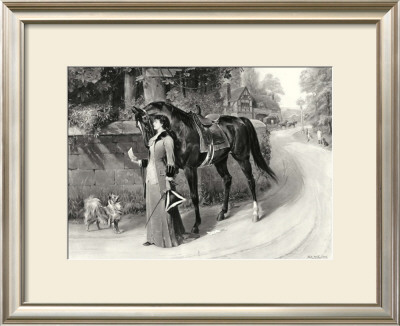The Love Letter Print by S.E. Waller