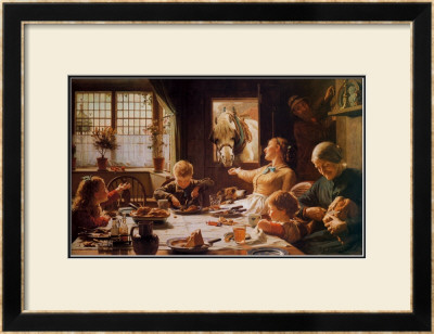 One of the Family Art by Frederick George Cotman