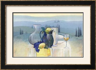 Still Life in Toscana II Prints by Heinz Hock