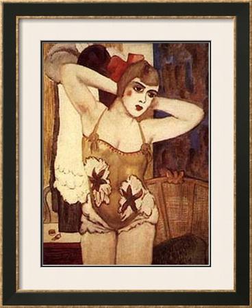 Dressing Room Posters by Walt Kuhn