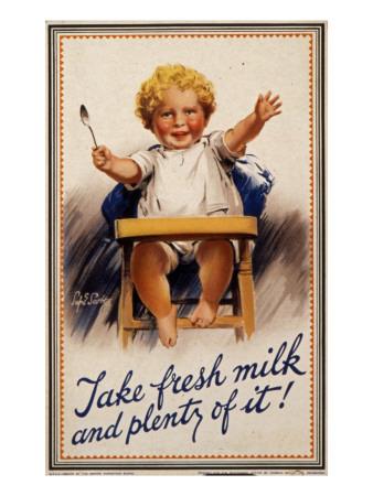 Empire Marketing Board Milk Poster Giclee Print