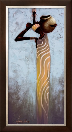 Aquarius I Prints by Maurice Evans