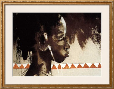La Belle de Tambacounda Posters by Gildas Flahault